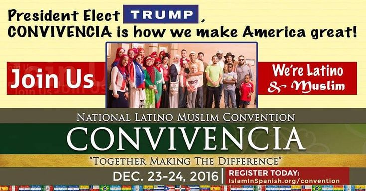 The 1st Latino Muslim Convention will be open forum, no topics are too taboo to discuss including sham marriages.
