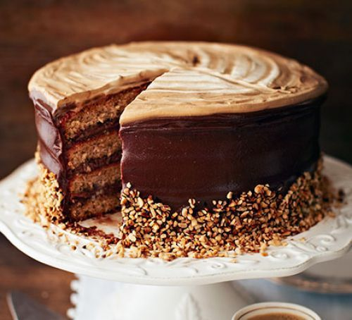Hazelnut latte cake                                                                                                                                                                                 More