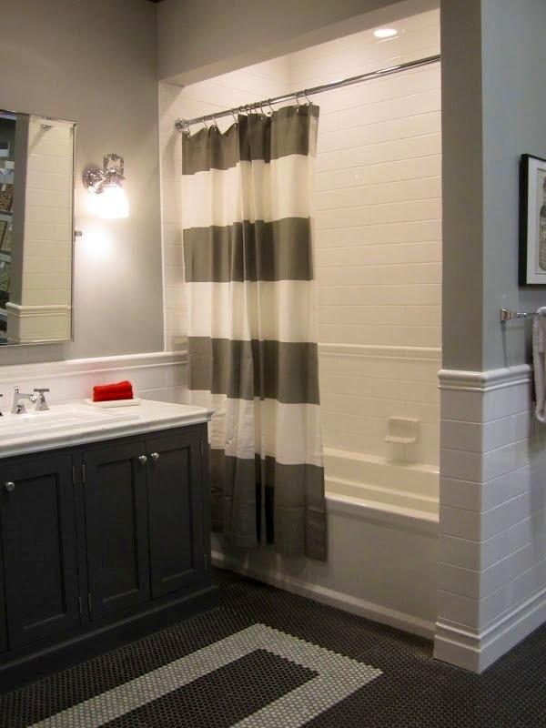 Porcelain Penny Round Mosaic Tile Floor Bathroom