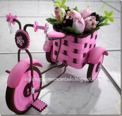 bicicleta de E.V.A