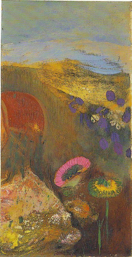(Musée Maurice Denis) - Fleurs étranges d'ODILON REDON