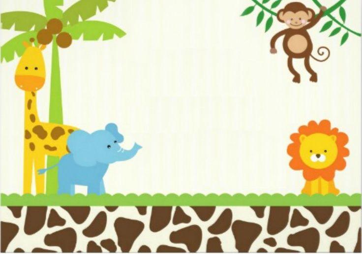 40th Birthday Ideas: Safari Birthday Invitation Template Free