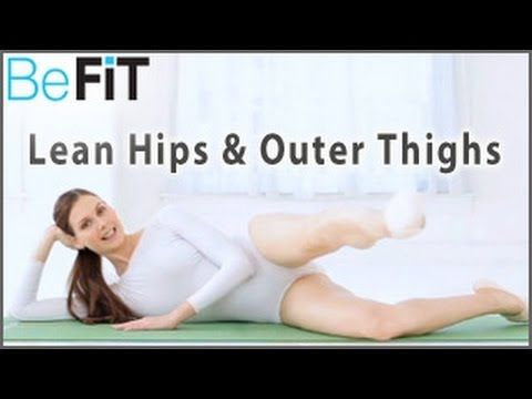 Ballet Beautiful: Lean Hips & Outer Thighs Workout- Mary Helen Bowers - YouTube