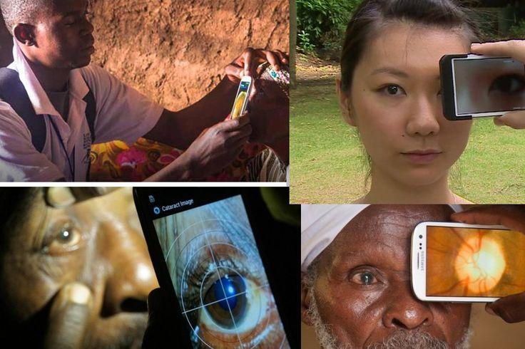 Peek app,  o aplicativo de smartphone que evitará a cegueira | #Jmj, #Peek, #PeekApp, #Smartphones
