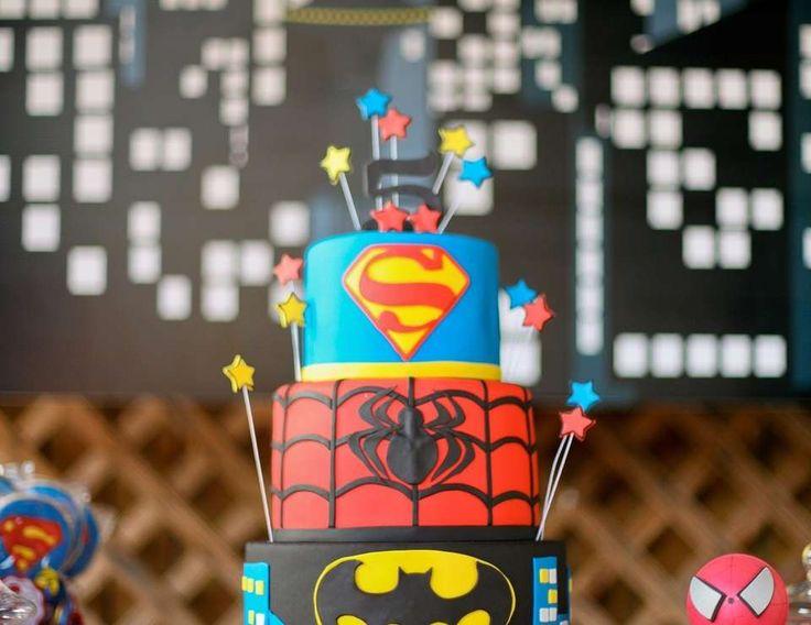 "Superheroes!!! / Birthday ""Superheroes"" | Catch My Party"