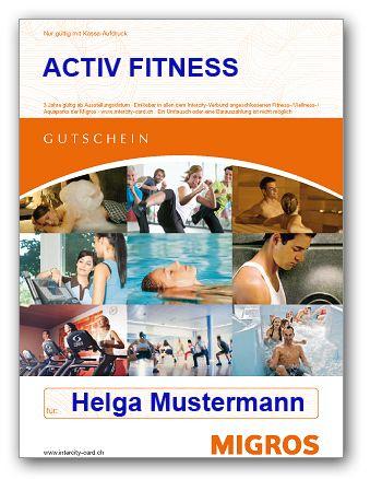 1 Jahres Abo vom ACTIV Fitness