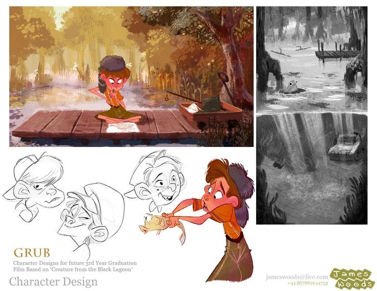 Animation Character Design Portfolio : Best kids images character design character