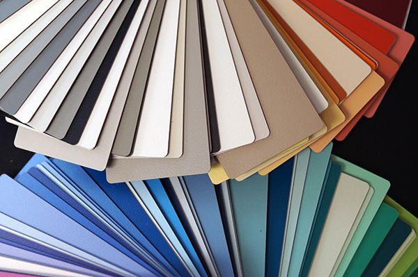 Laminater i mange forskellige farver. Copyright: Keflico A/S.