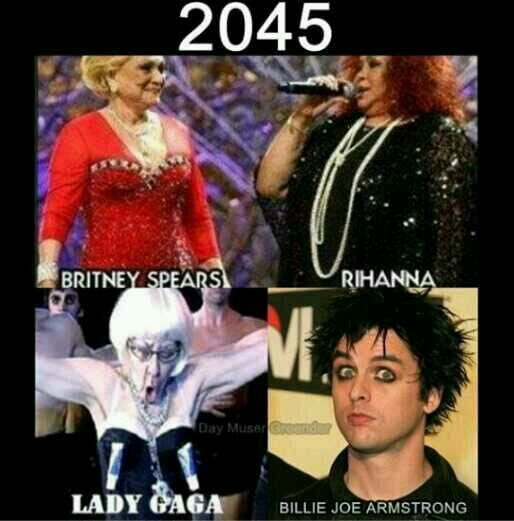 Sounds about right is that Billie in the corner of ladygagas pic????