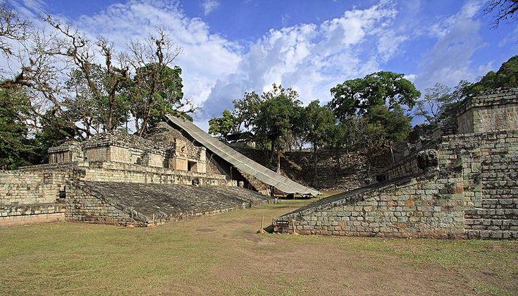 Copán bolwerk van de Maya's in Honduras