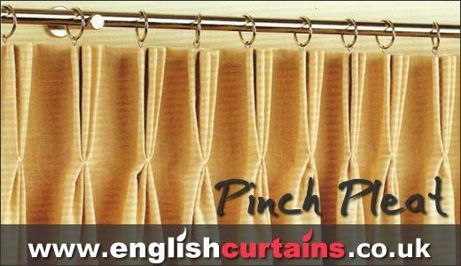Triple Pleat Curtain Heading