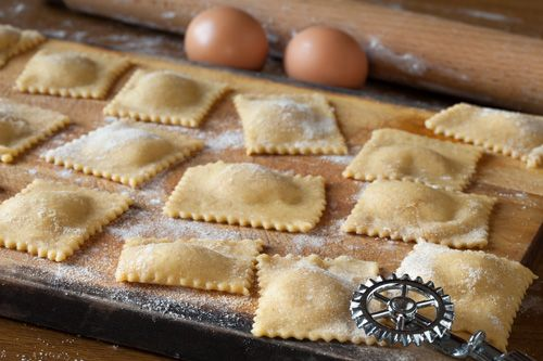 Traditional Italian Meat Ravioli(Ravioli di Carne) | Enjoy this authentic Italian recipe from our kitchen to yours. Buon Appetito!
