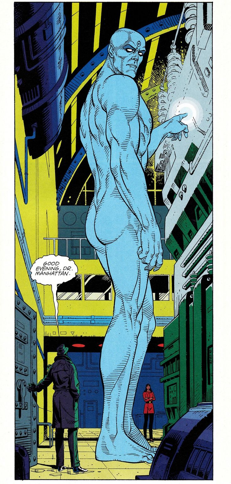 WATCHMEN #1 (Sept. 1986)Art by Dave Gibbons & John HigginsWords by Alan Moore