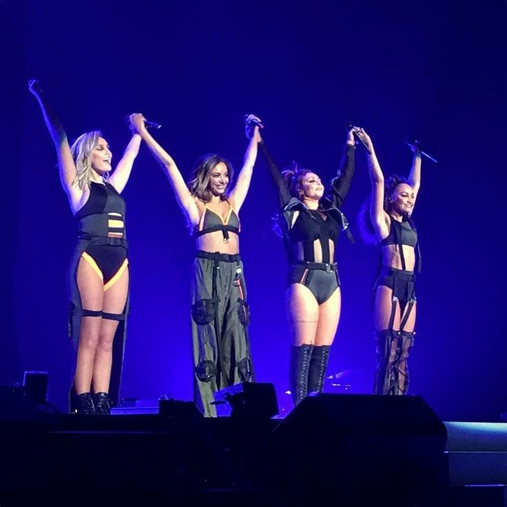 Little Mix opening for Ariana Grande on her Dangerous Woman tour 2017