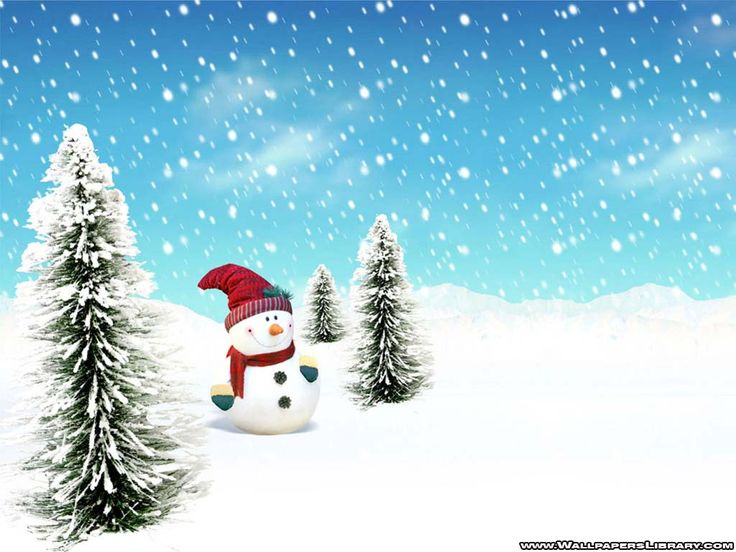 new year snowman wallpaper (click to view)