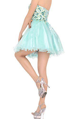 d12375c9f7e LovingDress Short Prom Dresses A Line Tulle Homecoming Dresses at Amazon  Women s Clothing store