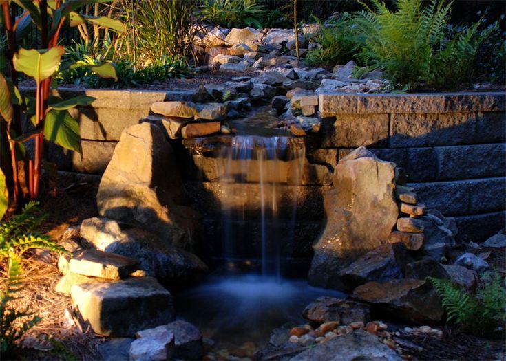 koi pond lighting ideas. delighful pond pond lighting for koi ideas b