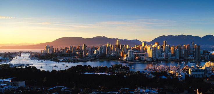 Vancouver Skyline at Sunset - Vancouver - CKA