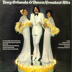 Tony Orlando and Dawn--the 70s produced some incredible groups and music. This group wasn't one of them. They were, however, responsible for the idea of yellow ribbons, which endures today.
