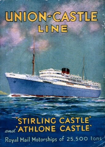 Brochure for the Stirling and Athlone Castles.