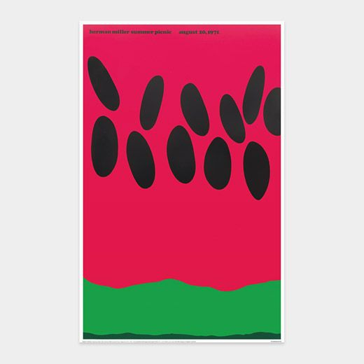 Stephen Frykholm: Herman Miller Summer Picnic August 20 1971; Absolutely adore these graphics!!!