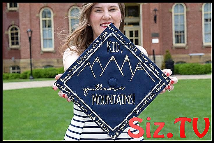 Elementary Education graduation cap signed by kind #Cap #classpintag #Education #Elementary