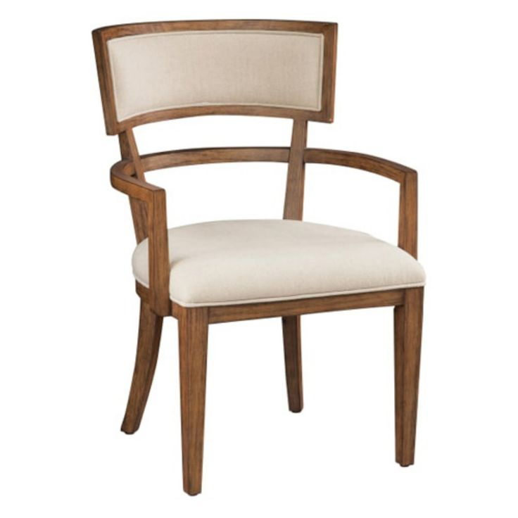 Hekman Bedford Park Arm Chair | Dining chairs, Fabric ...