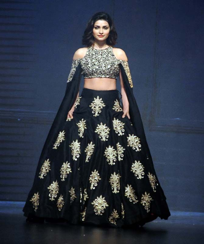 Prachi Desai at the Lakme Fashion Week Winter Festive 2016. #Bollywood #Fashion #Style #Beauty #Hot #Sexy