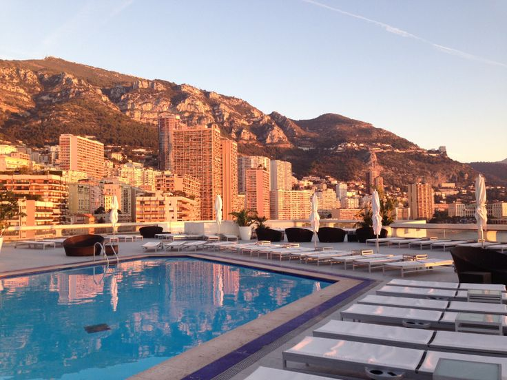 two words: rooftop pool. catch sunrise over the mediterranean on one side and the towering buildings of monaco on the other. the hotel's rooftop champagne bar is the most convenient viewing area for the most famous hairpin turn of the grand prix race.