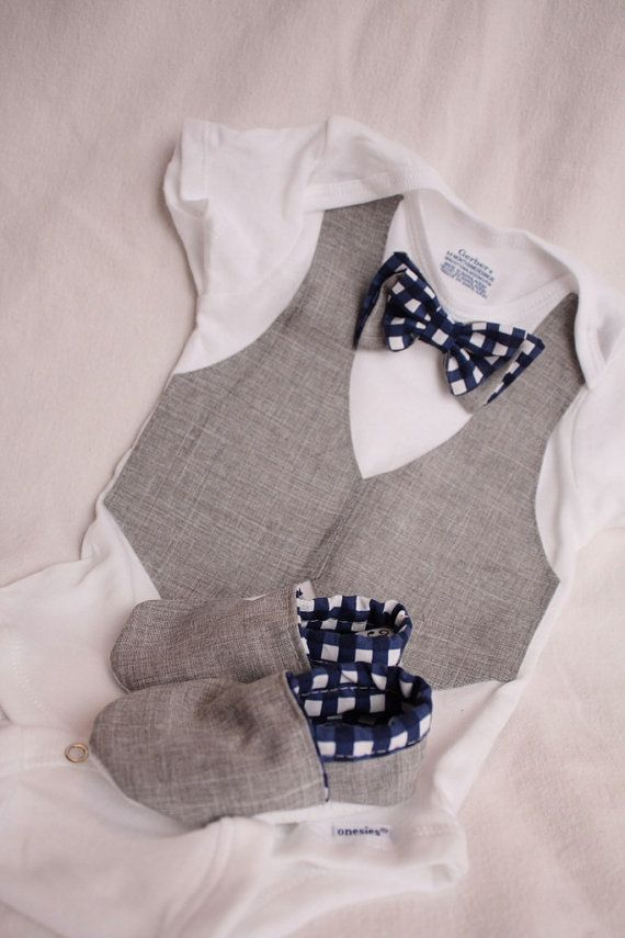 Baby boy shirt bow tie shirt Baby boy photo prop by haddygrace, $37.99