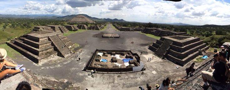 Teotihuacan tierra de guerreros México