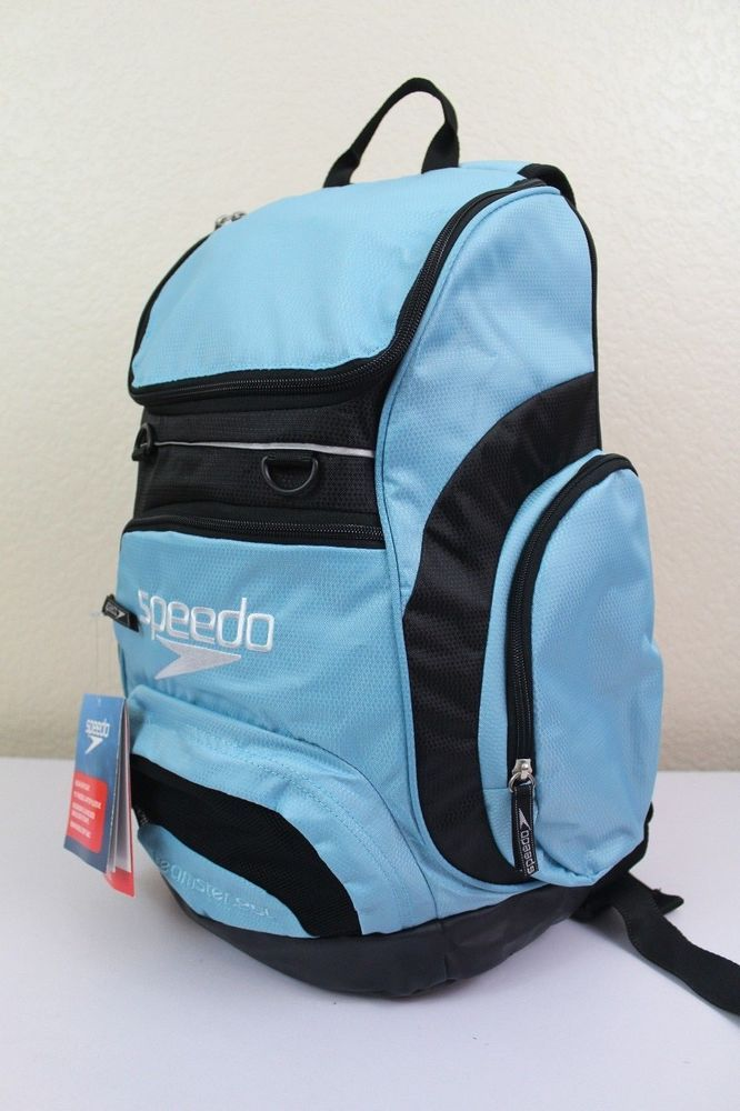 "speedo teamster backpack swimming gear dirt bag 25L 15"" padded laptop sleeve #Speedo #Backpack"