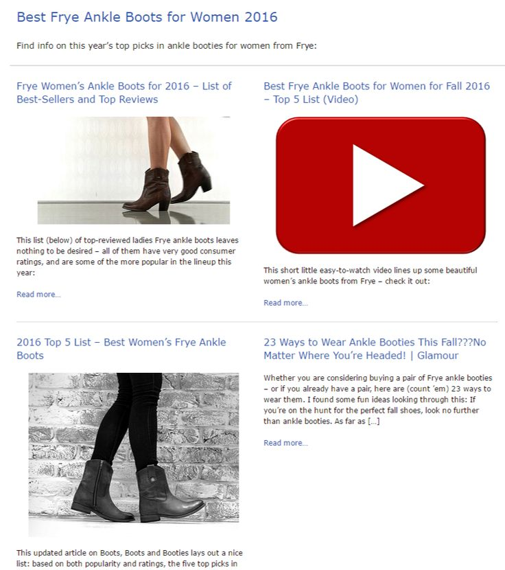 Best Frye Ankle Boots for Women 2016 - The Boot Guide