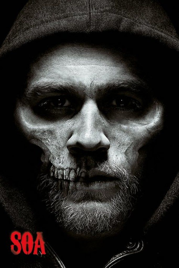 Sons of Anarchy - Jax Skull - Official Poster