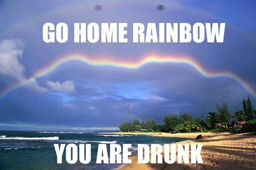 "I have no idea why I like these ""go home, you are drunk"" pics so much. but i really really do i find them really funny.."
