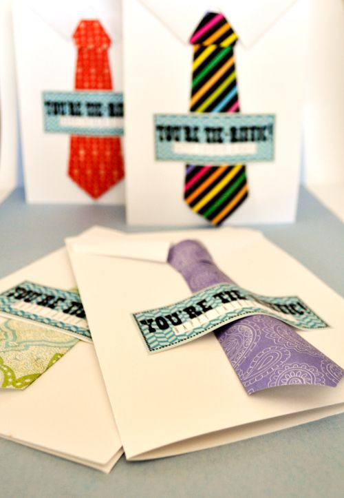 Here is my second Father's Day project for you: You're Tie-riffic! cards. They're easy and great to do with your Young Women, Primary kids or Activity Days girls. I've got i…