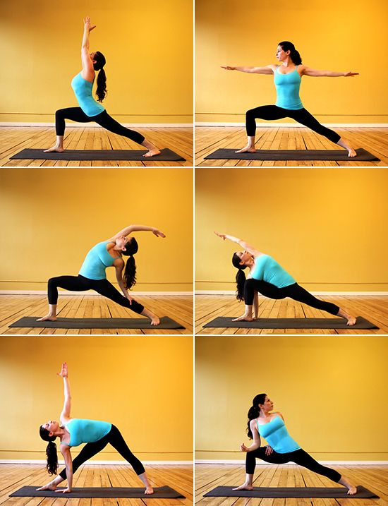 Thigh-Slimming Yoga Sequence