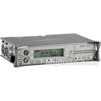Sound Devices 702T - High-Resolution 2-Channel Compact Flash Field Recorder with Time Code