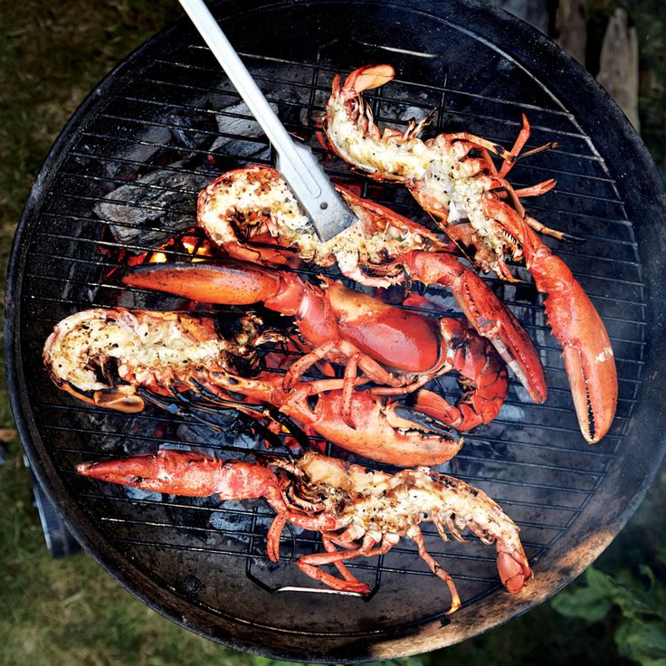 Cooking lobster entirely on the grill ensures that no water gets inside the shell, which means you'll get more concentrated lobster flavor.