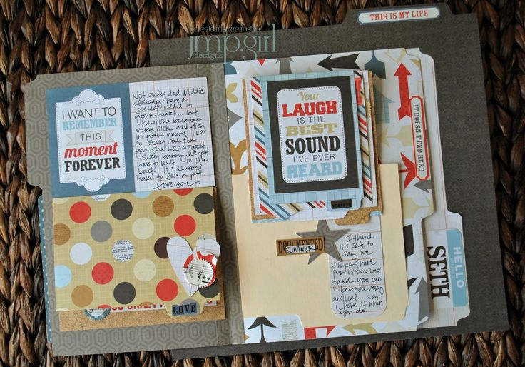 on today: Interactive Scrapbook Page
