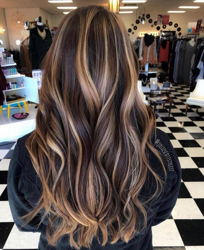 35 Breathtaking And Creative Hair Color Trends Hair Colour Style Creative Hair Color Hair Styles Brunette Hair Color