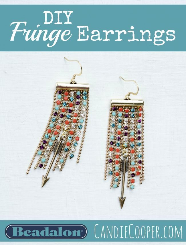74 best diy chandelier earrings more images on pinterest diy fringe earrings aloadofball Gallery