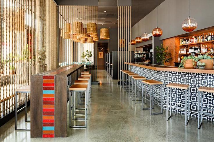Commercial design restaurant cool lighting and for Cool interior design blogs