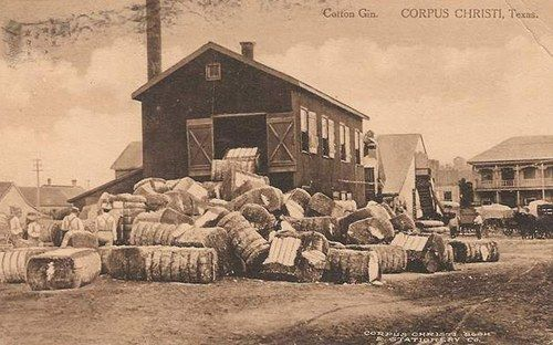 Vintage photos & postcards of cotton gins in Texas. Cotton plays a big part of the DUSTER graphic novel. http://duster.me