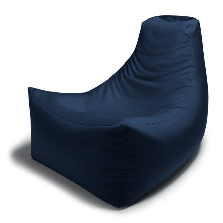 Jaxx Juniper Outdoor Bean Bag Chair - 16602 / 1 / Navy