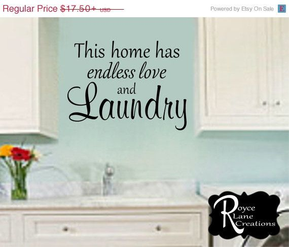 19 Best Laundry Room Humor U0026 Decor Images On Pinterest | Vinyl Wall Decals, Laundry  Room Decals And Master Bedrooms Part 93