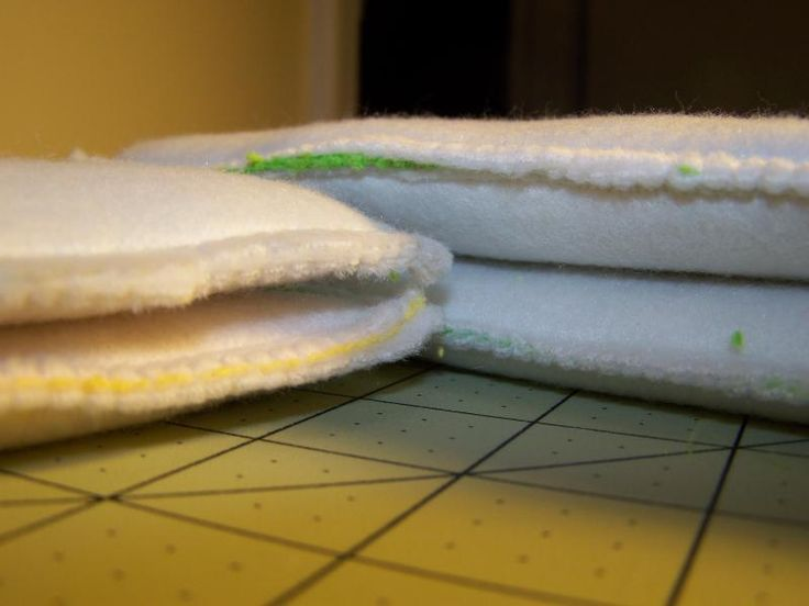 Microfiber liners with fleece on the outside.
