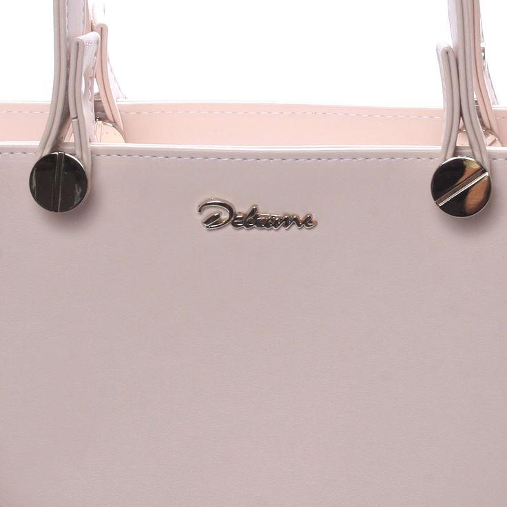 Aktraktivní kabelka Helen, béžová Delami