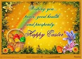 We wish our customers a Happy Easter!