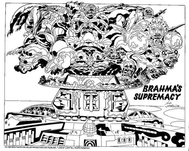 """The Lost Jack Kirby Sketches For The (Real) """"Argo"""" Film Project - BuzzFeed Mobile"""